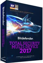 Bitdefender Total Security Multi-Device 2017, 5 Device-uri, Subscriptie 1 an, BOX/Retail