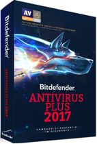 Bitdefender Antivirus Plus 2017, 1 PC, 1 an, Licenta noua, BOX/Retail