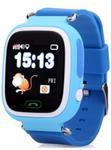 """Smartwatch iUni Kid100 996002, 1.22"""", GPS, Bratara silicon, dedicat pentru copii (Albastru)"""