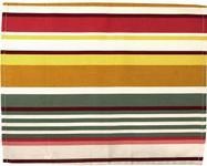 Suport pentru farfurie Heinner HR-PLC45-PK01, Bumbac, 35 x 45 cm, model Dungi Roz (Multicolor)