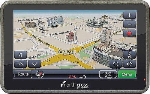 Sistem de Navigatie North Cross ES515, 500 MHz, Microsoft Windows CE 6.0, TFT LCD Touchscreen 5inch, Harta Full Europa