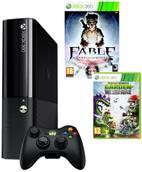 Consola Microsoft Xbox 360 500GB + Plants vs Zombie: Garden Warfare + Fable Anniversary + 1 Luna Live