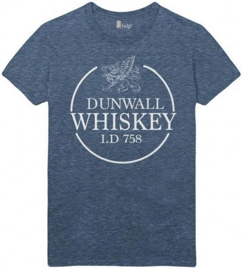 Tricou Dishonored 2 Dunwall Whiskey, marime L (Gri)