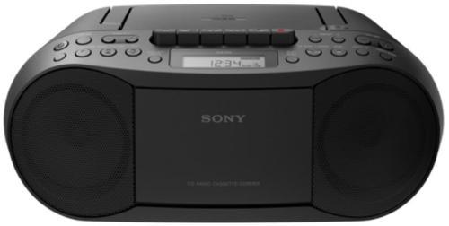 micro sitem sony cfds70b, cd/mp3 player, radio am/fm (negru)