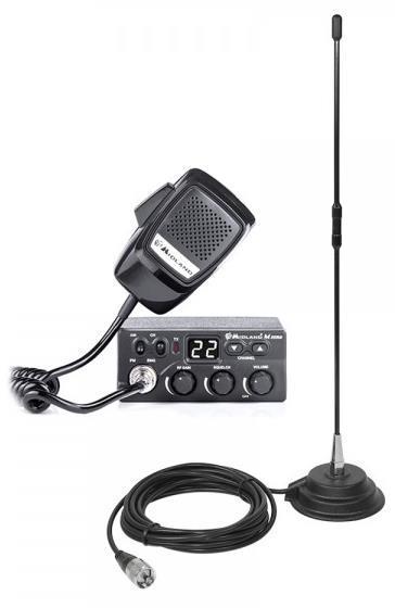 Imagine indisponibila pentru Kit Statie radio CB Midland M Zero + Antena PNI Extra 40 cu magnet (Negru)