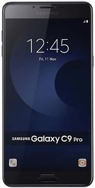 "Telefon Mobil Samsung Galaxy C9 Pro, Procesor Octa-Core 1.95GHz / 1.4GHz, Super AMOLED Capacitive touchscreen 6"", 6GB RAM, 64GB Flash, 16MP, Wi-Fi, 4G, Dual Sim, Android (Negru)"