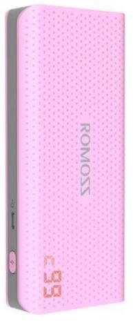 Imagine indisponibila pentru Acumulator extern Romoss Sense 4 LCD, 10400 mAh (Roz)