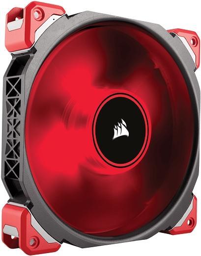 Ventilator Corsair ML140 PRO Red LED Premium Magnetic Levitation Fan 140mm