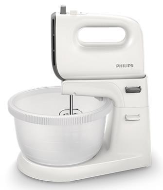 Imagine indisponibila pentru Mixer cu bol Philips HR3745/00, 450W, 5 viteze, 3L (Alb)