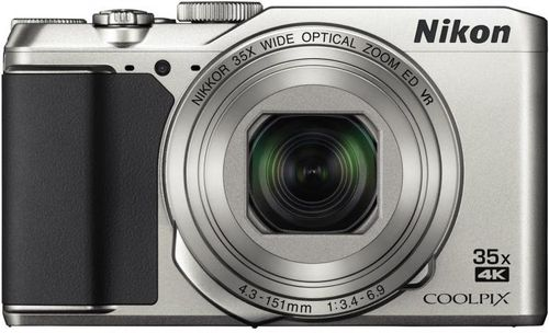 Aparat Foto Digital NIKON COOLPIX A900, Filmare 4K, 20.3 MP, Zoom Optic 35x, 3inch LCD, WiFi (Argintiu)