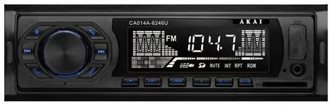 Radio MP3 Auto AKAI CA014A-6246U, USB, SD (Negru)