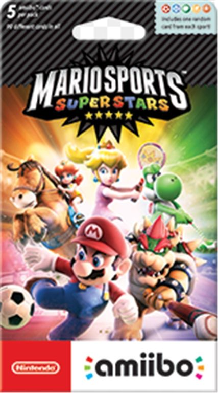 mario sports superstars amiibo cards (vgm)