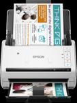 Scanner Epson WorkForce DS-570W, ADF, A4, Retea, Wireless (Alb)