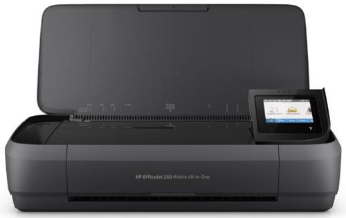 Multifunctional HP OfficeJet 252 Mobile All-in-One, Inkjet, A4, 27 ppm, ADF, Wireless