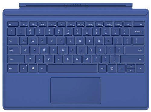 Tastatura Microsoft Type Cover pentru Microsoft Surface Pro 4/Pro (2017) (Albastru)
