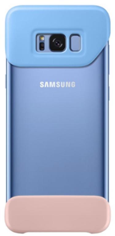 Husa Bumper Samsung EF-MG955CLEGWW pentru Samsung Galaxy S8 Plus (Albastru)