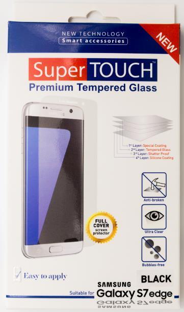 Folie protectie sticla securizata Super Touch STH-0721 pentru Samsung Galaxy S7 Edge (Neagra)