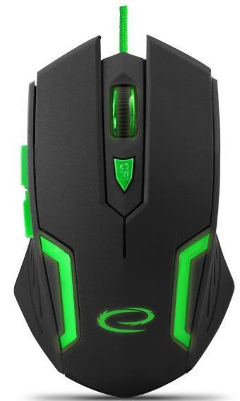 Mouse ESPERANZA EGM205B (Negru/Verde)