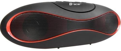 Boxa Portabila Tracer Powertone BT, Bluetooth (Negru/Rosu)
