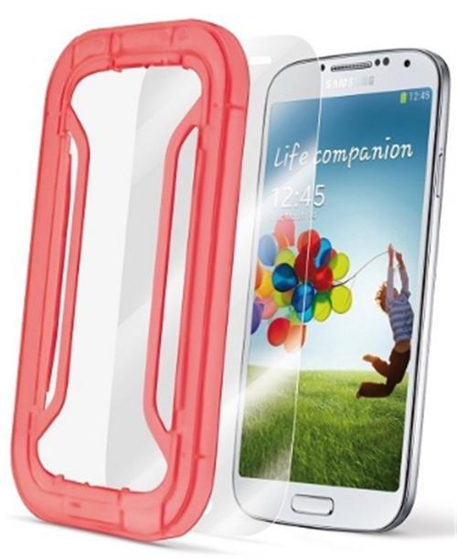 Folie Protectie CellularLine PERFETTOGALAXYS4 pentru Samsung Galaxy S4 (Transparent)