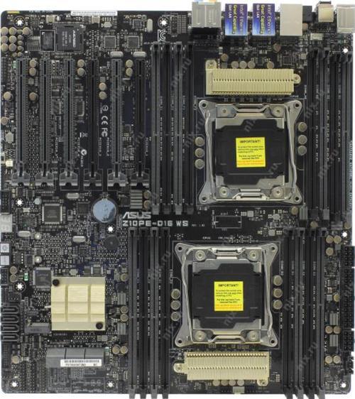 Placa de baza Asus Z10PE-D16 WS, Intel C612, LGA 2011-3