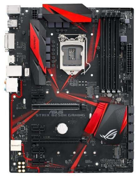 Placa de baza Asus Strix B250H Gaming, SaveSlot, Intel B250, LGA 1151