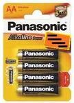 Baterii Foto Alkaline Panasonic Lr6Apb, 1.5 V, 4 Buc