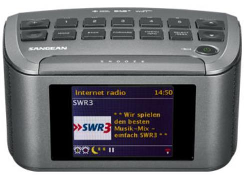 Radio Internet Sangean RCR-11WF, WiFi (Gri)