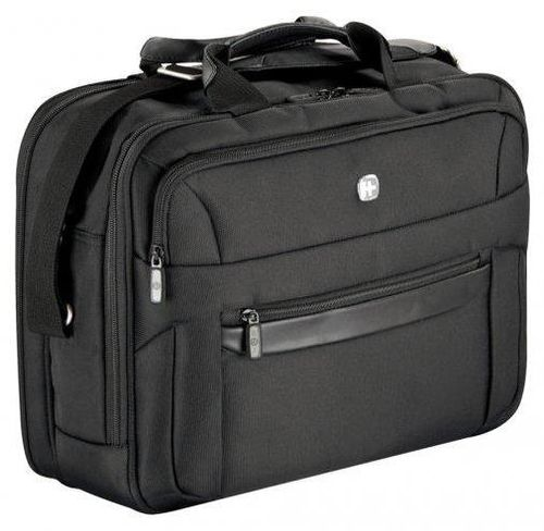 Geanta laptop Wenger Business 15inch, 2 compartimente (Neagra)