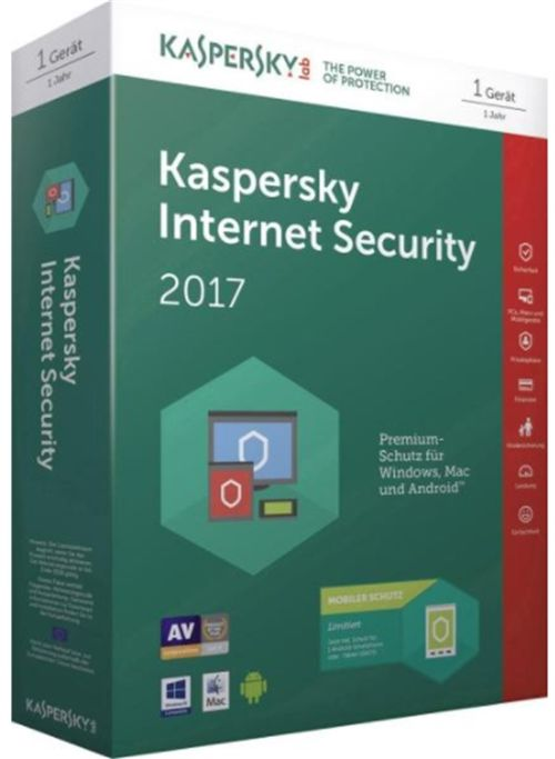 Kaspersky Internet Security 2017 Multi-Device European Edition, 1 PC, 1 an, Licenta Reinnoire Electronica