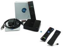 Player Multimedia Venz V10 Combi, 4K, Wifi, Bluetooth, Android + Venz VZ-RK-1 - telecomanda multifunctionala (Negru)