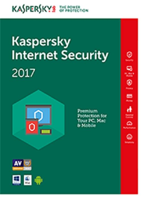 Kaspersky Internet Security 2017 Multi-Device European Edition, 2 PC, 1 an, Licenta Electronica