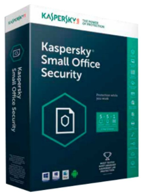 Kaspersky Small Office Security 5 European Edition pentru 1 File Server, 8 Device-uri Mobile, 8 PC, 1 an, Licenta Reinnoire Electronica