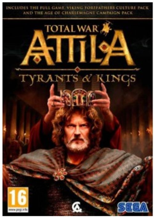 total war attila tyrants and kings edition (pc)