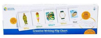Joc interactiv Learning Resources Flip chart pentru scriere creativa - New edition