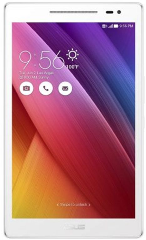 Tableta Asus ZenPad Z380KNL, Procesor Quad-Core 1.2GHz, IPS Capacitive touchscreen 8inch, 2GB RAM, 16GB Flash, 5MP, 4G, Wi-Fi, Android (Pear White)