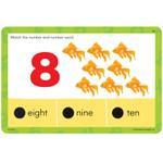 "Joc matematic Educational Insights Carduri Junior HOT DOTS ""Numerele"""