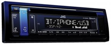 Player Auto JVC KD-R889BT, 4x50W, USB, Bluetooth (Albastru)