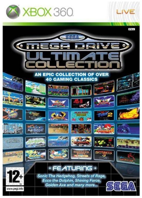 sega mega drive ultimate collection classics (xbox 360)