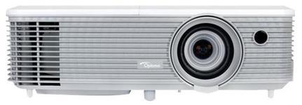 Videoproiector Optoma W400+, 4000 lumeni, 1280 x 800 Full 3D, Contrast 22000:1, HDMI (Alb)