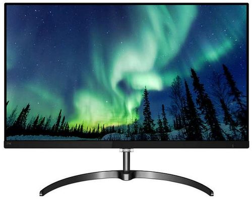 Monitor IPS LED Philips 27inch 276E8FJAB/00, QHD (2560 x 1440), VGA, HDMI, DisplayPort, Boxe, 4 ms (Negru)