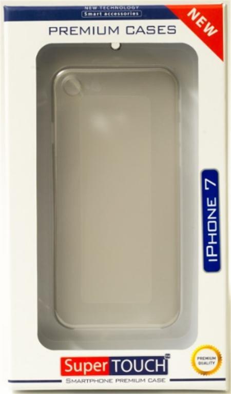 Carcasa Super Touch TPU STH-1216 pentru iPhone 7/iPhone 8 (Gri)