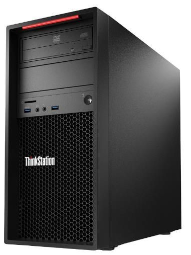 Sistem PC Lenovo ThinkStation P310 (Procesor Intel® Core™ i7-6700 (8M Cache, up to 4.00 GHz), Skylake, 16GB, 256GB SSD, nVidia Quadro K2200@4GB, Win10 Pro, Tastatura+Mouse)