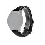Curea din piele neagra pentru Samsung Gear S3