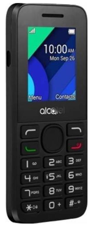 Telefon Mobil Alcatel 1054D, Ecran TN 1.8inch, 4MB RAM, 4MB Flash, VGA, 2G, Dual Sim (Gri)