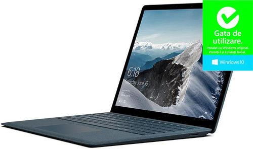Laptop Microsoft Surface Notebook (Procesor Intel® Core™ i7-7600U (4M Cache, up to 3.90 GHz), Kaby Lake, 13.5inchHD, 16GB, 512GB SSD, Intel HD Graphics 640, Win10S)