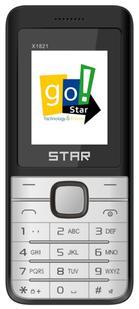 """Telefon Mobil Star X1821, Ecran LCD 1.77"""", Dual Sim, 2G (Negru)"""