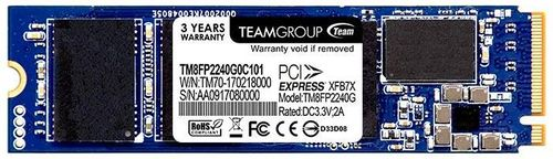 ssd team group p30, 240gb, m.2 2280, pcie nvme express