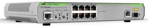 Switch Allied Telesis AT-FS909M-50, 8 Porturi
