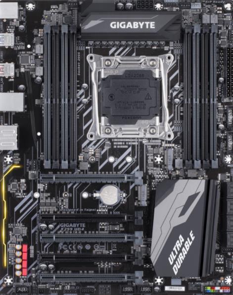 Placa de baza Gigabyte X299 UD4, Intel X299, LGA 2066